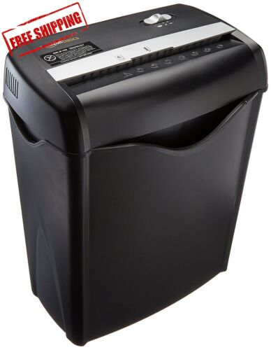 Commercial Office Shredder Paper Destroy Crosscut Heavy-duty Cd Dvd Credit Card