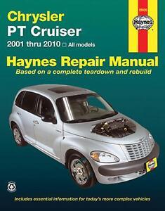 pt cruiser manual ebay rh ebay com 2002 pt cruiser manual pdf Newer PT Cruiser