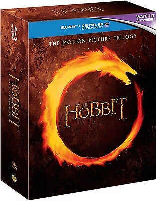 The Hobbit: The Motion Picture Trilogy [Blu-ray Box Set, Region Free, 6-Disc]
