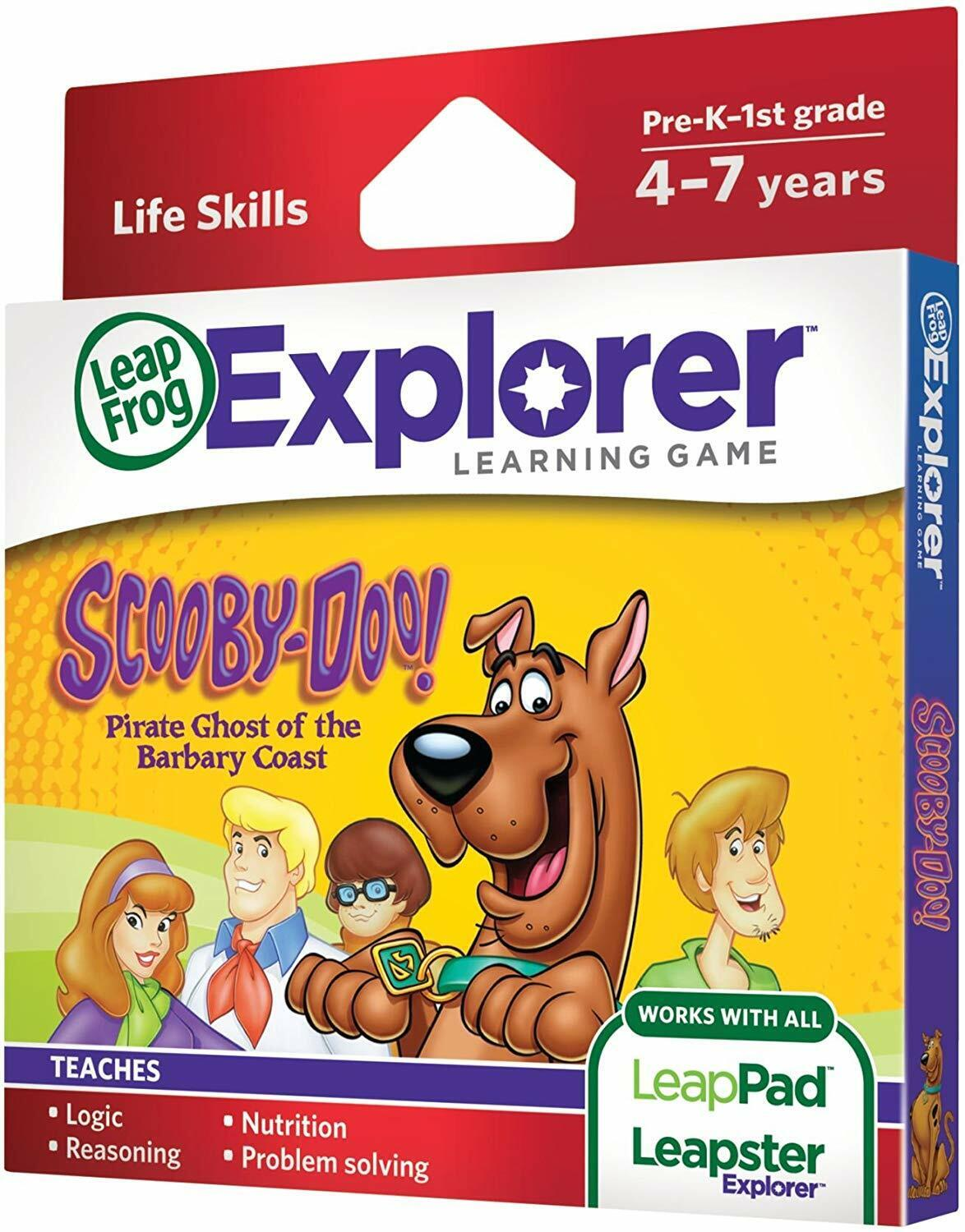 LeapFrog Scooby-Doo! Pirate Ghost of the Barbary Coast Learn
