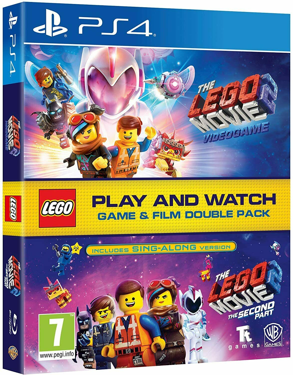 LEGO PS4 PS5 Games - New & Sealed - LEGO Sony PlayStation 4 5 Movie Game Range