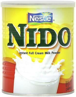Nestle Nido Full Milk Powder with Added Vitamins & Minerals - 400g (Pack of 6)