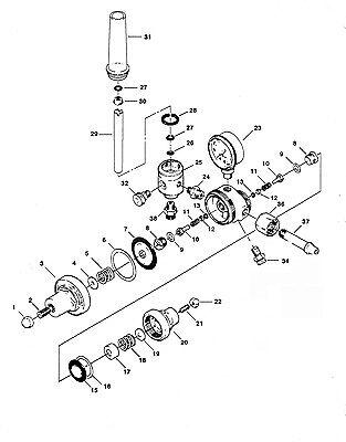 Repair Kit- Victor 0790-0123 Hvts 2500 2570 Regulator - Flowmeter - Avhvts2500rk