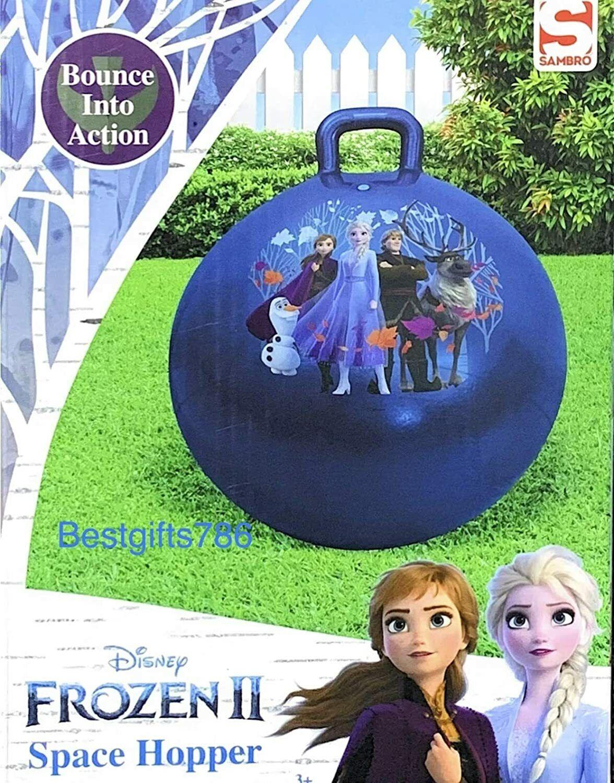 Sambro Disney Frozen Die Eiskönigin 2 Hüpfball Hopser Hopsball mit Griff