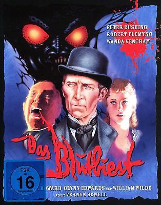 DAS BLUTBIEST The Blood Beast Terror PETER CUSHING Limited Edition BLU-RAY Neu