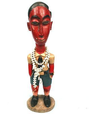Art Afrikanisch - Excellent Colon Baule - Skulptur Extra Outfit Klasse - 27,5