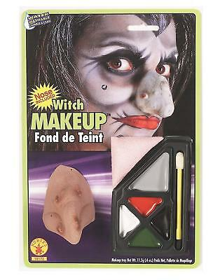 Witch Makeup Kit with Nose Included (water washable)
