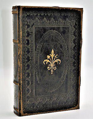 Faux Leather Decorative Storage Book /Box