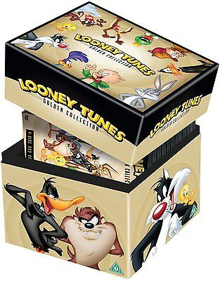 Golden Collection (LOONEY TUNES 1-6 THE COMPLETE GOLDEN COLLECTION 1 2 3 4 5 6 DVD BOX ENGLISCH)
