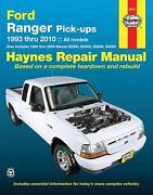 1999 ranger service manua