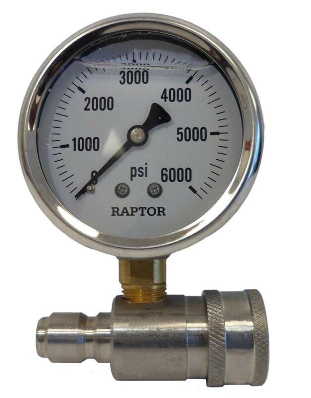 Raptor Pressure Guage & Adapter[C37F00454]