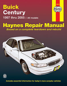 Repair-Manual-Haynes-19010-fits-97-05-Buick-Century