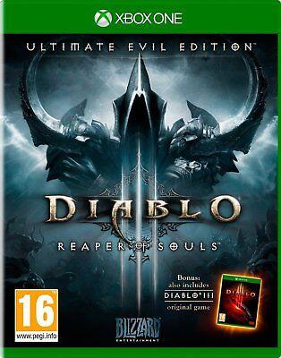 Diablo 3 III Reaper of Souls Ultimate Evil Edition Xbox One NEW