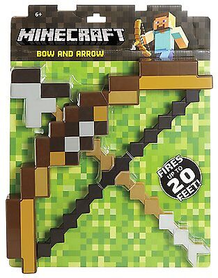 New Minecraft Bow And Arrow Toy Gift For Kids - UK Seller - Minecraft Bow And Arrow Toy