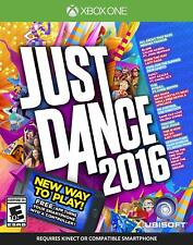 Brand New! Just Dance 2016 - for Microsoft Xbox One (2015)