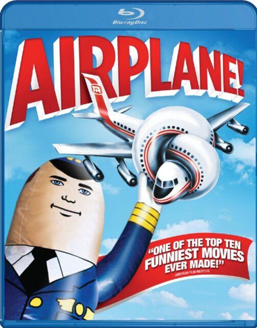 AIRPLANE (1980 Leslie Nielsen) - Blu Ray -  Region free
