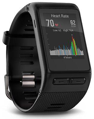 Garmin vivoactive HR GPS Smart Watch, XL Fit Black - NEW
