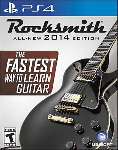 PS4 Rocksmith All-New 2014 Edition