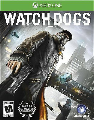 Watch Dogs [Xbox One XB1, Ubisoft, Open World Action Hacking Driving Game] NEW for sale  Shipping to Nigeria