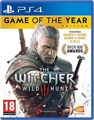 The Witcher 3: Wild Hunt Game of the Year Edition (PS4) NEW & SEALED