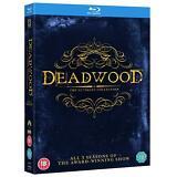 Deadwood - Complete Series (Blu-ray, HBO, 9 Discs, Region Free) *NEW/SEALED*