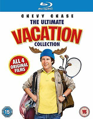 National Lampoons The Ultimate Vacation Collection  Blu Ray  5 Discs   New