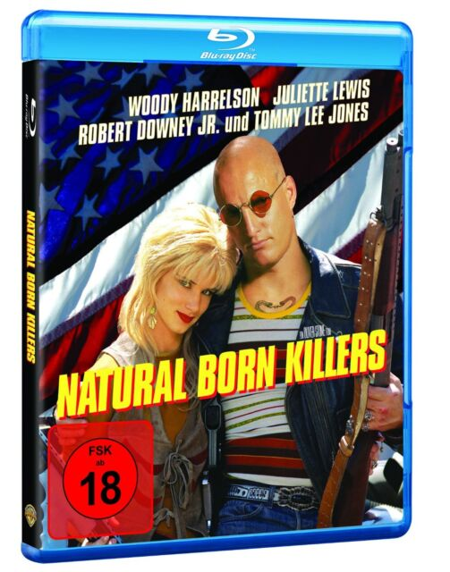 Natural Born Killers [Blu-ray] Ritt auf der Rasierklinge! * NEU & OVP *