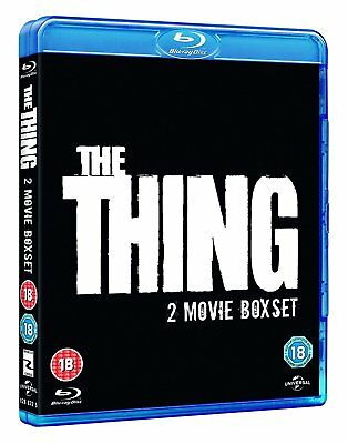 The Thing (1982 & 2011) Two 2 Movie Set Blu-Ray BRAND NEW Free Shipping