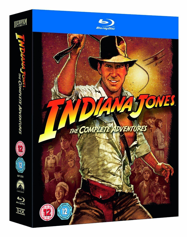 Indiana Jones The Complete Adventures Blu-Ray Set Brand New Free Ship
