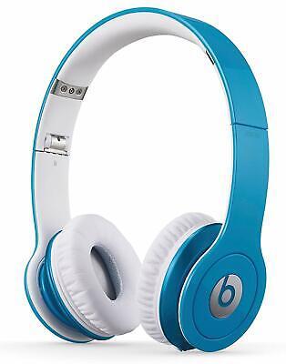 CUFFIE CON CAVO BEATS BY DR DRE SOLO HD ON EAR LIGHT BLUE BULK RICONDIZIONATE