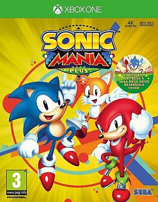 Sonic Mania Plus Xbox One with art book Brand New Factory Sealed