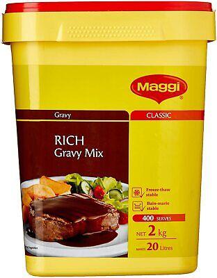 New Maggi Classic Rich Gravy Mix, 2kg Makes 20 Litres 400 Serves Free AUS Shippi