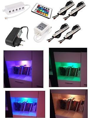 Moderne Unter Kabinett-beleuchtung (LED RGB SET Unterbauleuchten, Schrankleuchten, Unter Kabinett Beleuchtung )