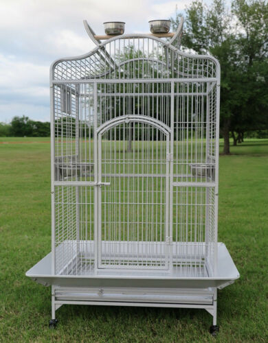 "63"" Large Open Play Top Bird Parrot Cage Cockatiel Macaw Conure Aviary Finch 152"