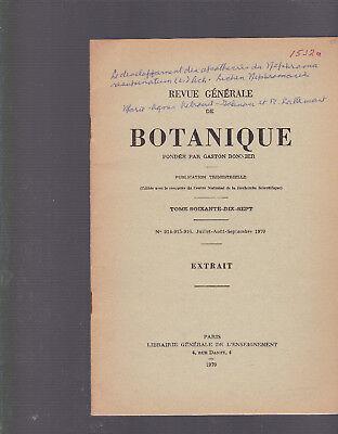 Le Developpement Des Apothecies Du Nephroma Resupinatum  L   Ach  Lichen  Nephro
