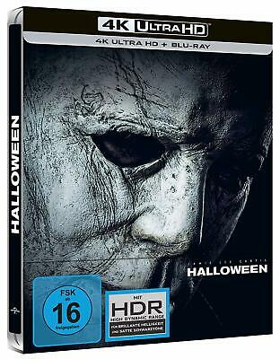 Halloween [Blu-ray Limited 4k Ultra HD Steelbook] *NEU* mit Jamie Lee Curtis - Halloween 4 Movie Script