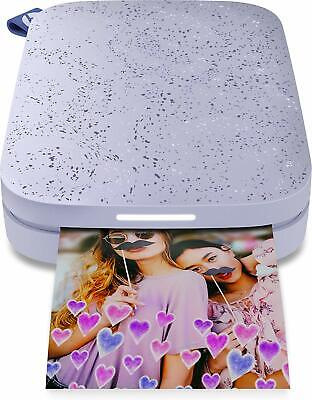 HP Sprocket Instant Photo Printer 2nd Edition - Lilac  | Brand New |