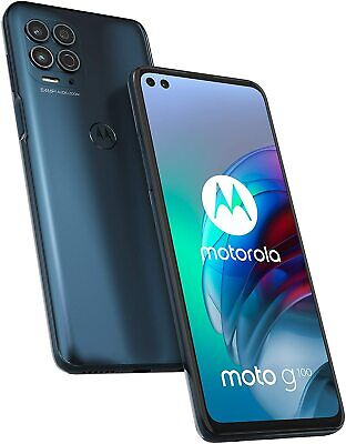 "MOTOROLA Moto G100 5G 128GB 8GB RAM 6,7"" Smartphone Dual Sim SLATE GREY"