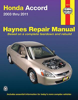 Repair Manual Haynes 42015 fits 03-12 Honda Accord