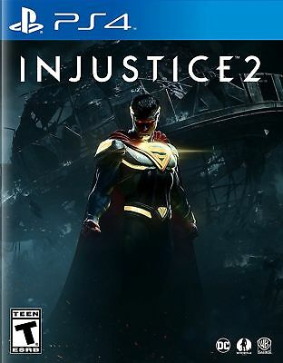 Injustice 2 (Sony PlayStation 4, 2017)
