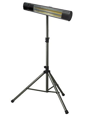 IR Bluetooth Party Heater SunHeat and Beat Outdoor Tripod 215 SqFt All Weather