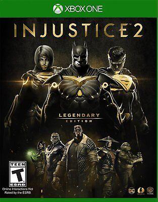 Injustice 2 Legendary Edition (Xbox One) BRAND NEW / Region Free
