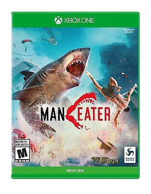 MANEATER - Xbox One - NEW FREE US SHIPPING