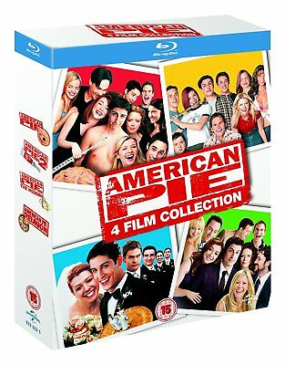 American Pie Collection   Movies 1 4  Blu Ray  4 Discs  Region Free   New
