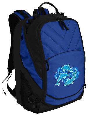 Dolphin Backpack BEST Dolphins Laptop Computer Bags For SCHOOL or