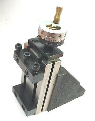 Toolpost Mini Vertical Slide 90 X 50 Mm For Instant Milling Operation On Lathe