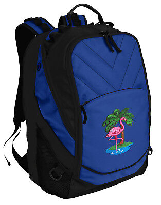 Pink Flamingo Backpack BEST Flamingos Laptop Computer Bags For SCHOOL or (Best Pink Laptops)