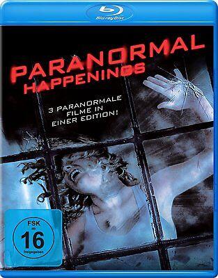 Geister In Filmen (Paranormal Happenings (3 Filme in einer Edition ) Blu Ray neu und OVP)