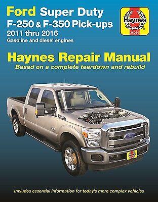 Diesel Shop Manual - 2011-2016 Ford Super Duty F250 F350 Gas Diesel Repair Service Shop Manual 922569