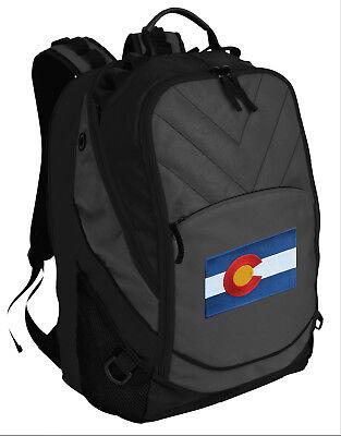 Colorado Flag Backpack Laptop Computer Bag BEST BACKPACKS - for SCHOOL or